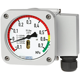 Монитор плотности газа с эталонной камерой