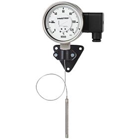 Манометрический термометр с электрическим сигналом
