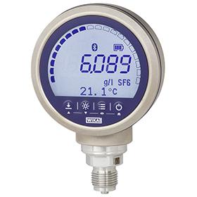Высокоточный цифровой индикатор плотности газа