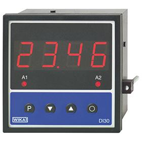 Цифровой индикатор для монтажа в панель