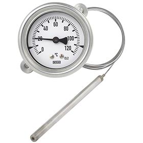 Жидкостный (манометрический) термометр с капилляром
