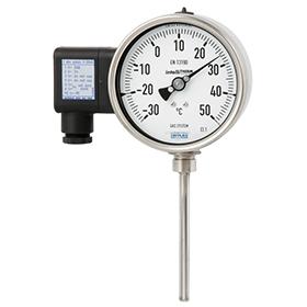 Манометрический термометр с электрическим выходным сигналом