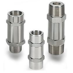 Обратный клапан с фиксированным давлением срабатывания широкого применения H-400