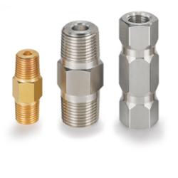 Компактный однокомпонентный обратный клапан с фиксированным давлением срабатывания H-400 OP