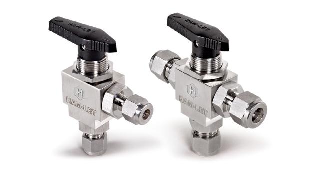 Угловые и 3-ходовые клапаны серии H-6800