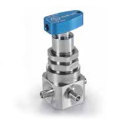 Клапаны с металлическими мембранами и рукоятками для ручного управления