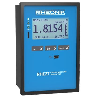 Трансмиттер RHE 27 с дисплеем для монтажа в панель или на DIN-рейку, расширенные функции