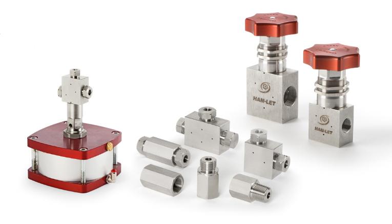 Фитинги и клапаны для среднего и высокого давления
